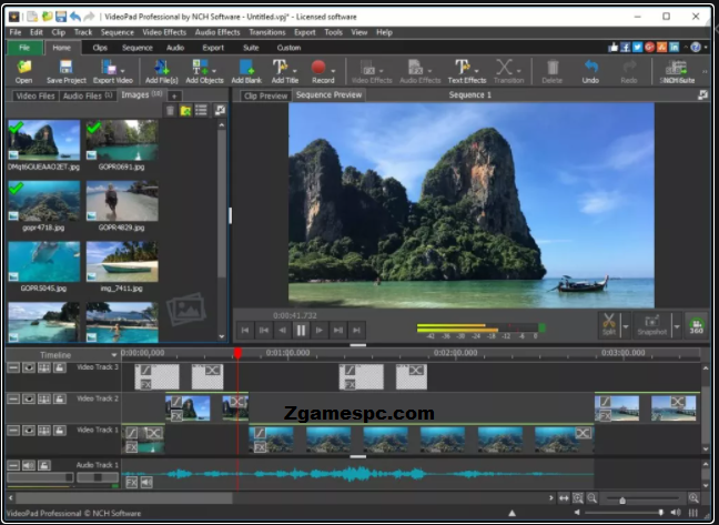 VideoPad Video Editor Cra